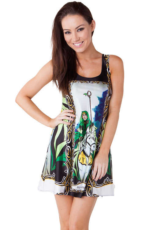 Knight of Wands A-Line Dress