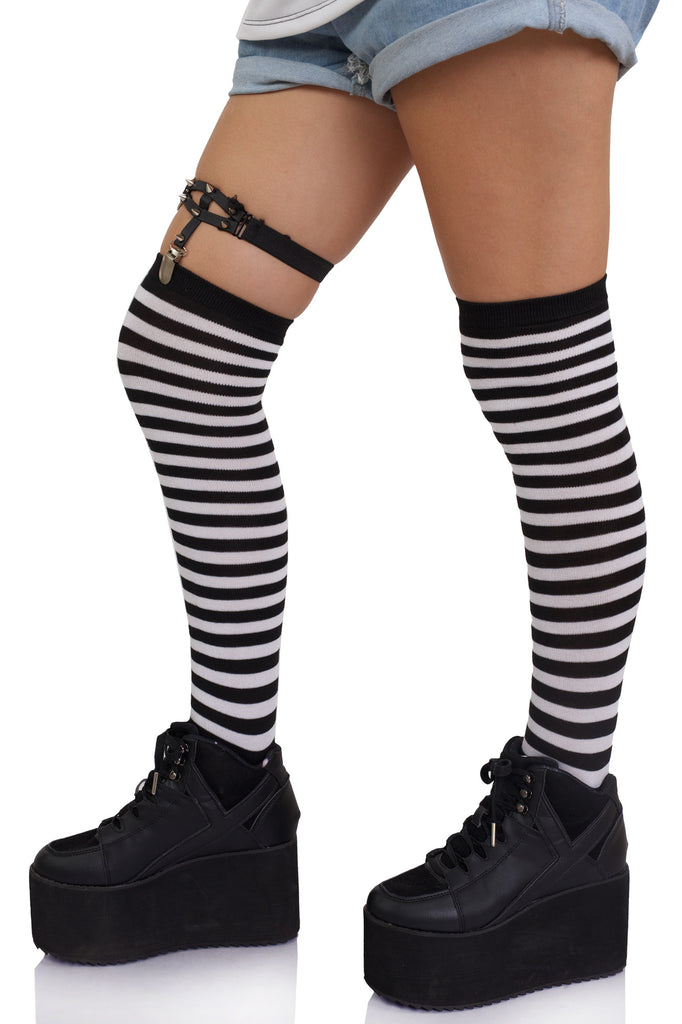 Let's Not Thigh High Socks