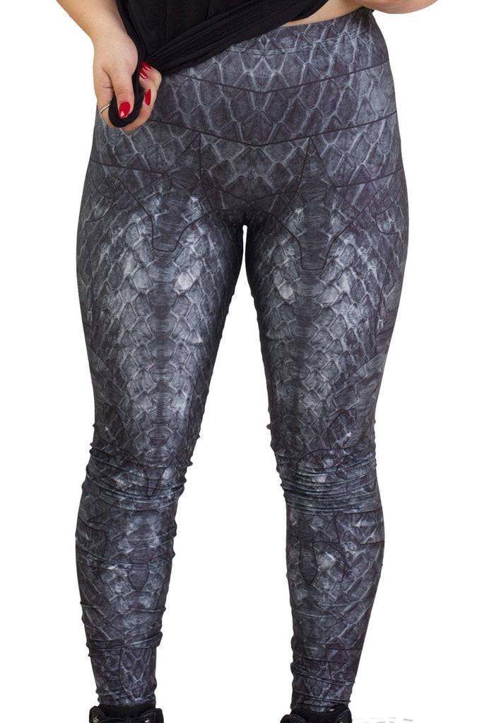 Black Dragon Queen Leggings
