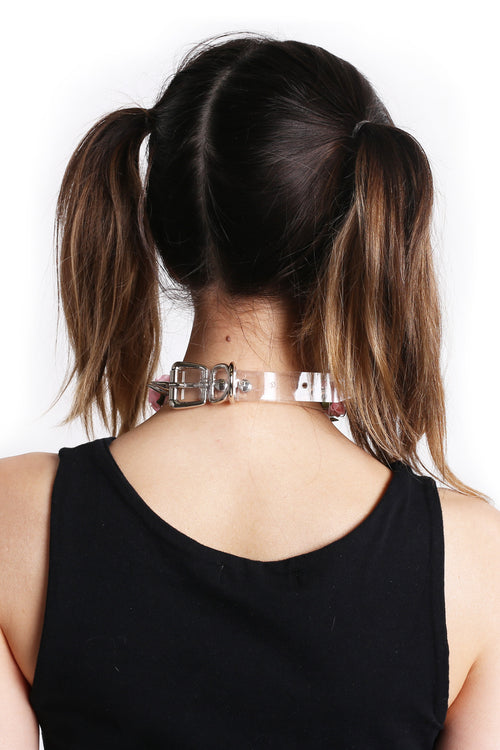 Get Lost Choker - Pink
