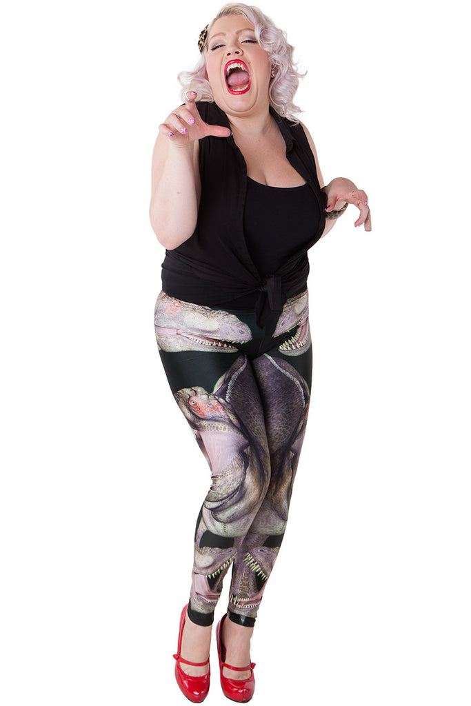 T-Rex Roar Leggings