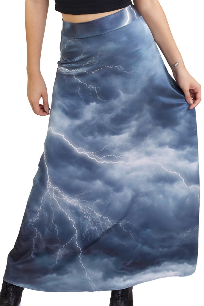 Lightning Has Struck Maxi Skirt