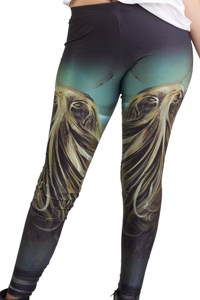 Cthulhu Leggings - MADE TO ORDER