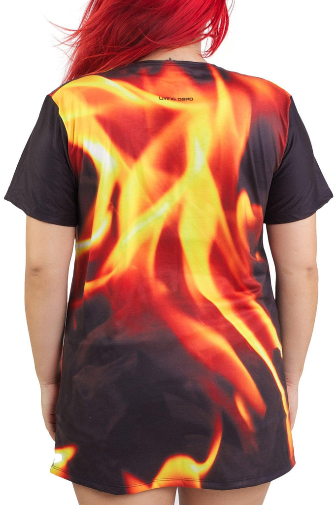 Bending Fire Tee - MADE TO ORDER