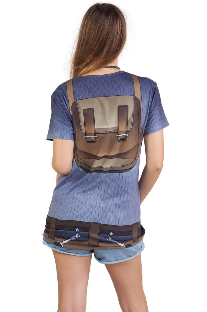 Croft Cosplay Tee - MADE TO ORDER
