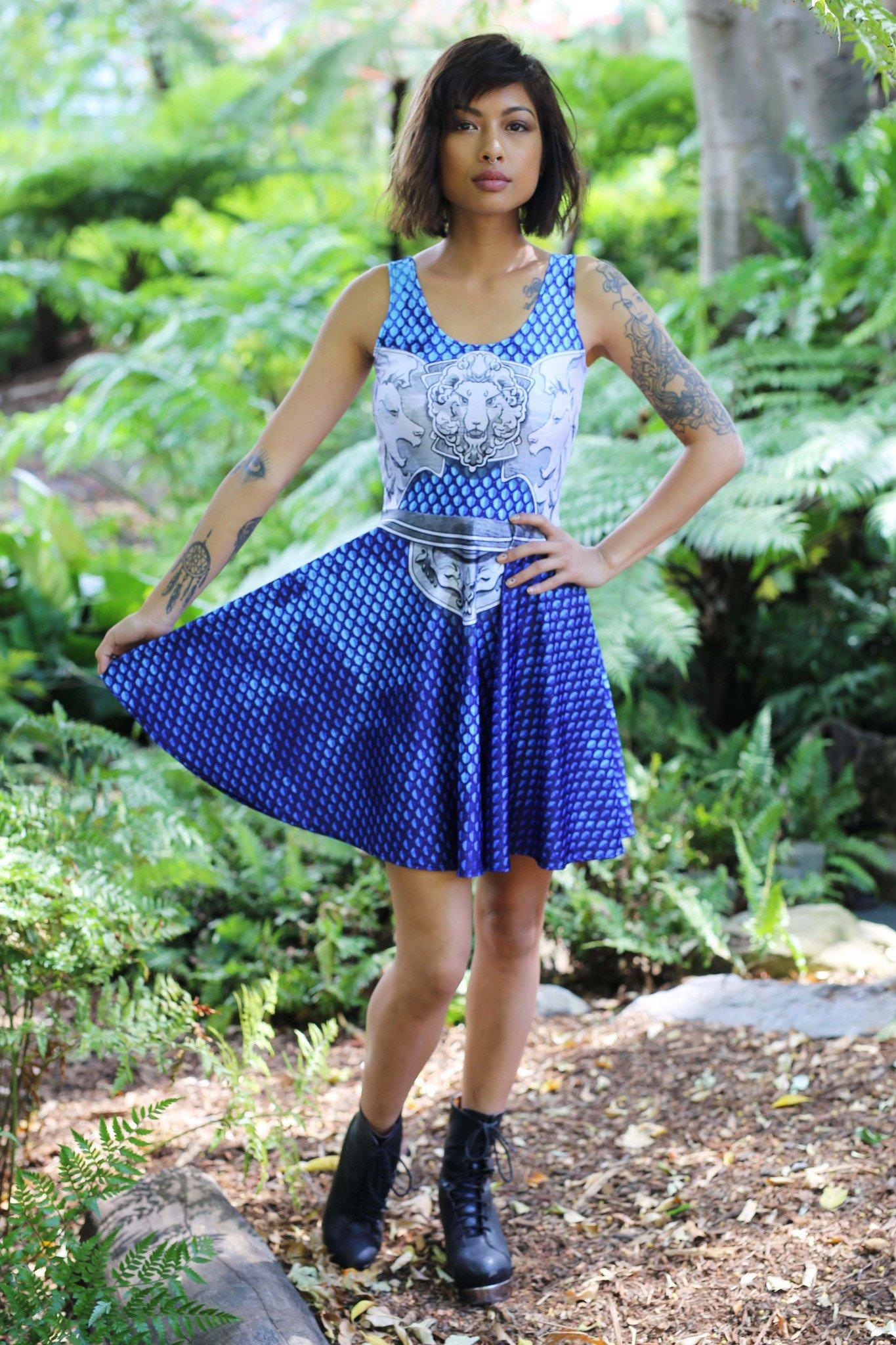 Blue Battle Maille Skater