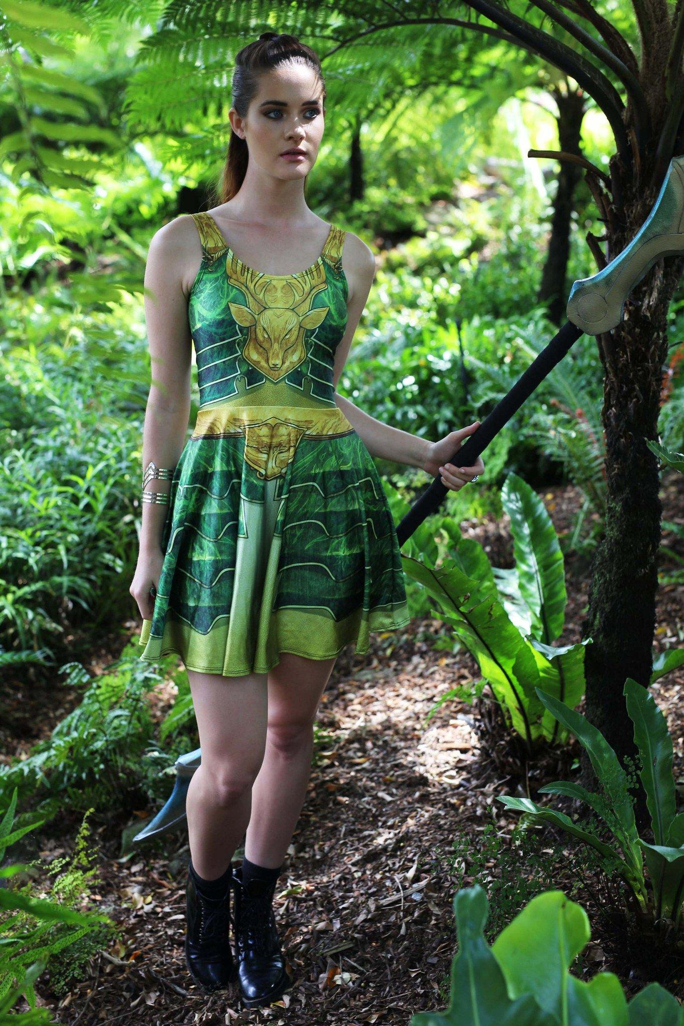 Elven Mage Skater Dress