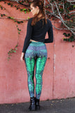 Green Dragon Queen Leggings