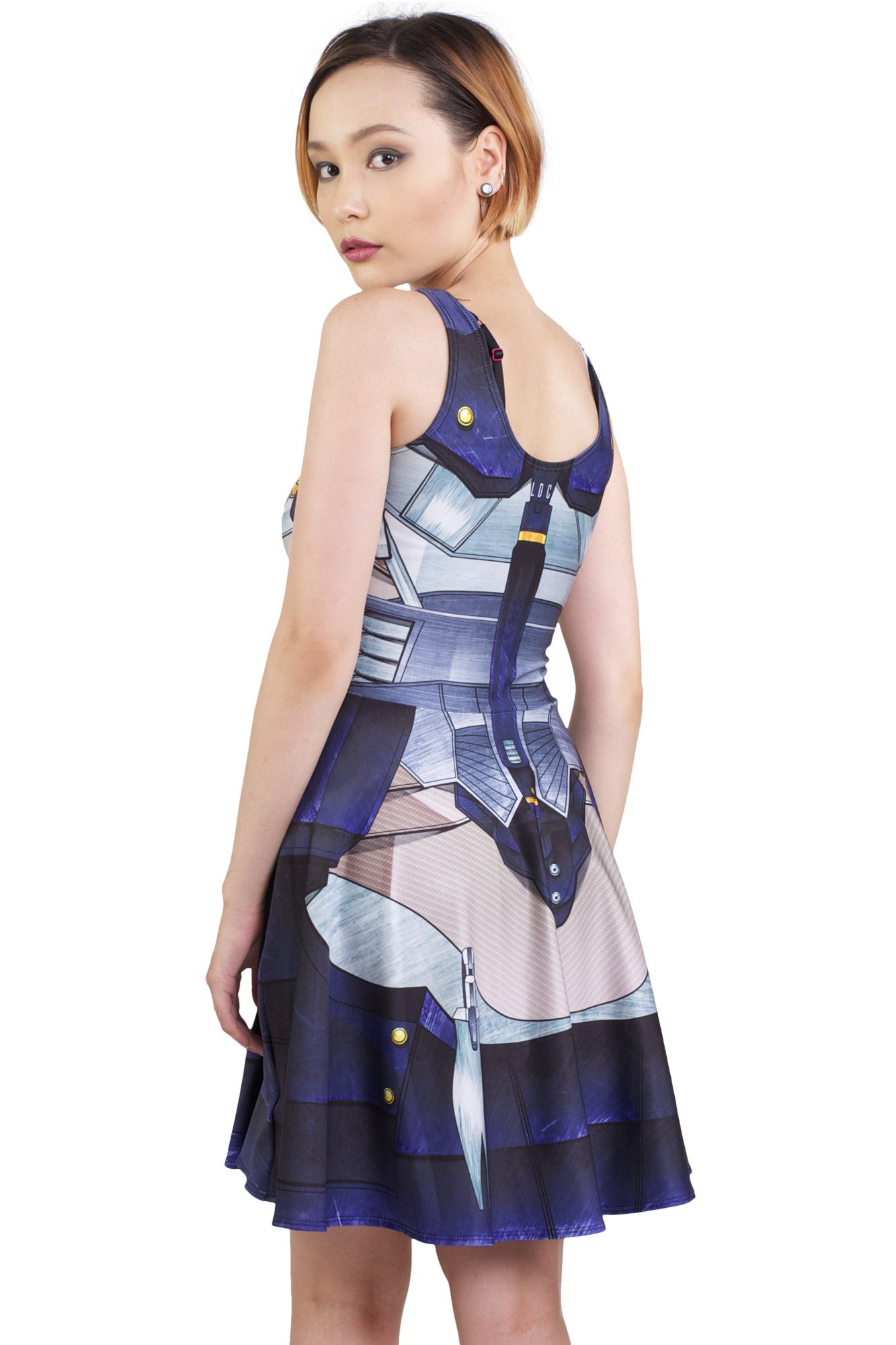 Raiden Cosplay Skater Dress