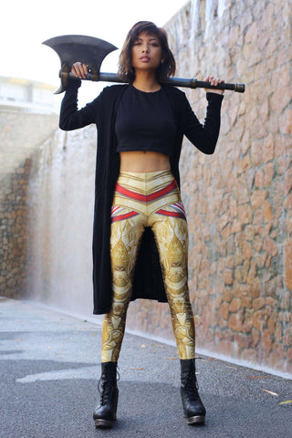 Silver Knight Leggings