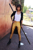 Golden Battle Maille Leggings