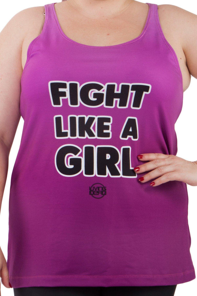 Fight Like A Girl Inspirational Tank