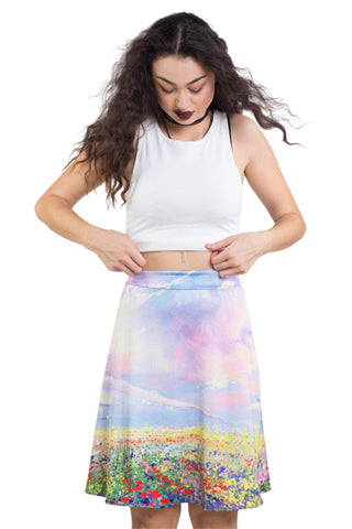 Doin' It For The Krill High Crop & Skater Skirt SET