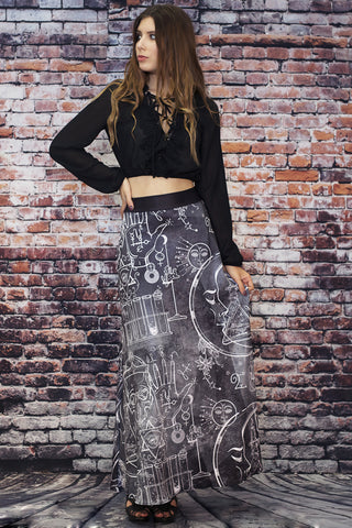 Dragon Fairy Skater Skirt