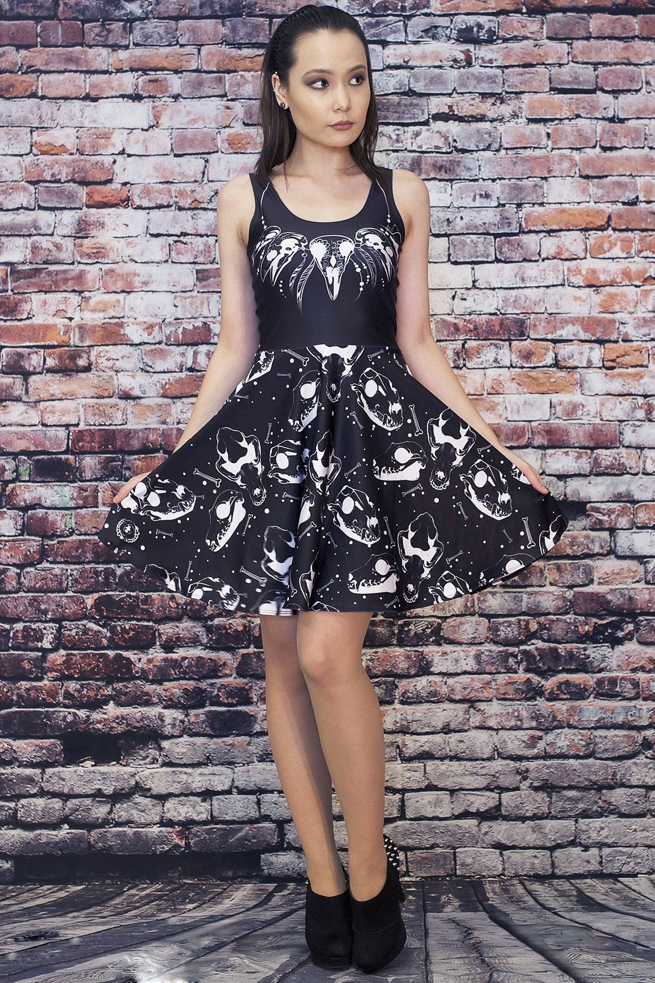 Voodoo Skater Dress