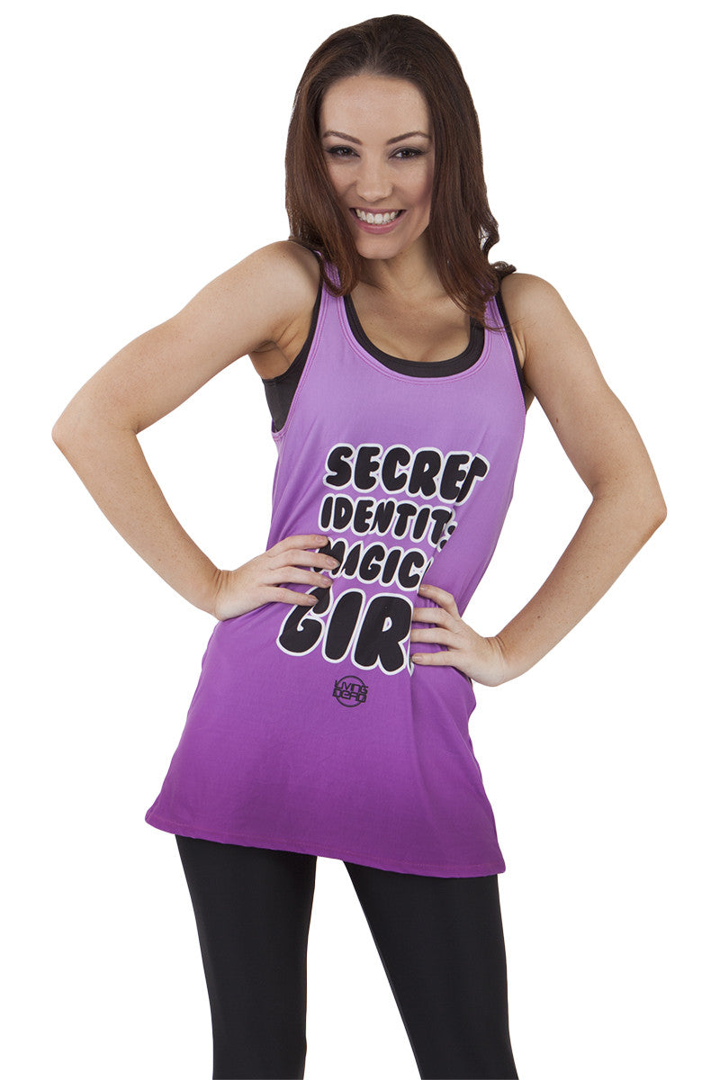 Secret Identity: Magical Girl Inspirational Tank