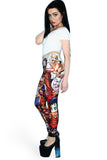 Zombie Fairytale Love Leggings - LIMITED