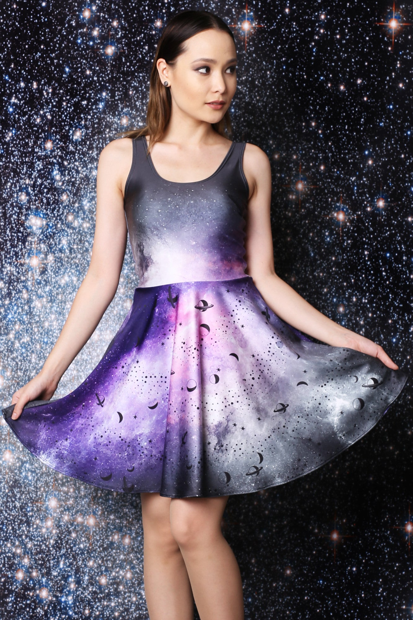 Heavenly Body Skater Dress