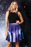 Celestial Objects Skater Skirt