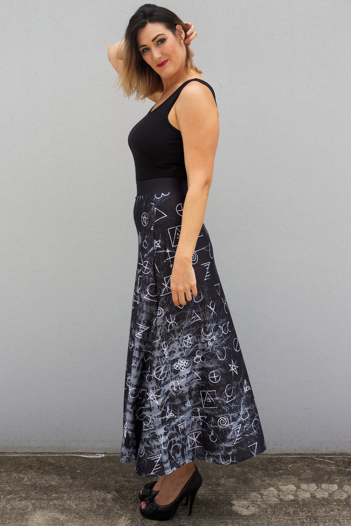 Wicca Maxi Skirt