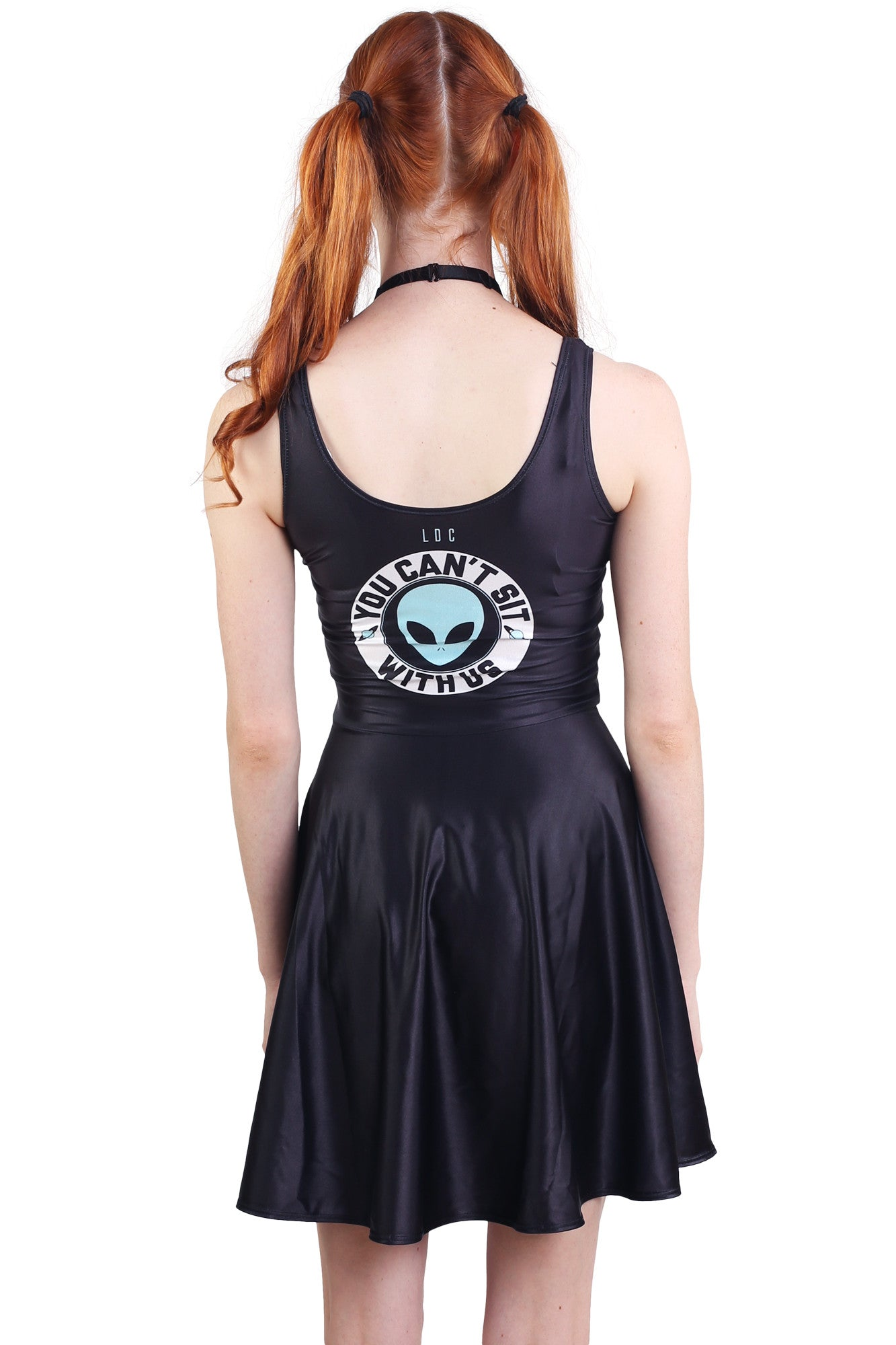 You Can't Sit With Us Skater Dress