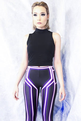 Blue Space Heroine Bodysuit
