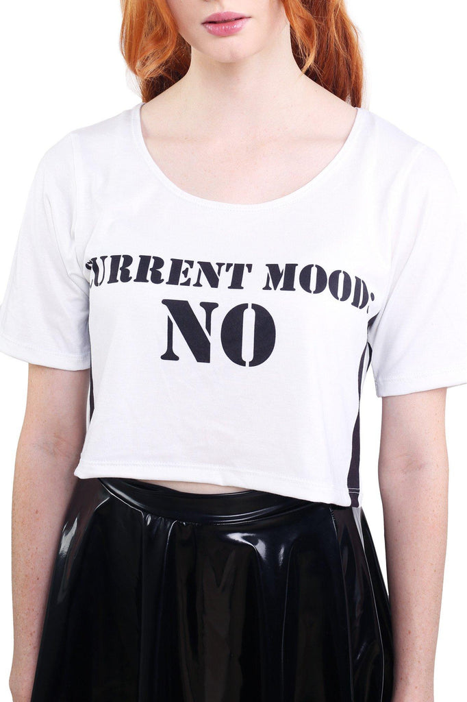 Current Mood Tee Crop