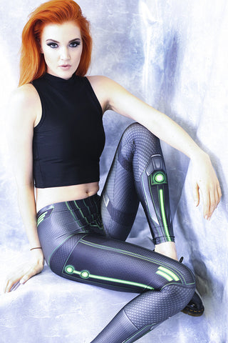 Purple Space Heroine Bodysuit