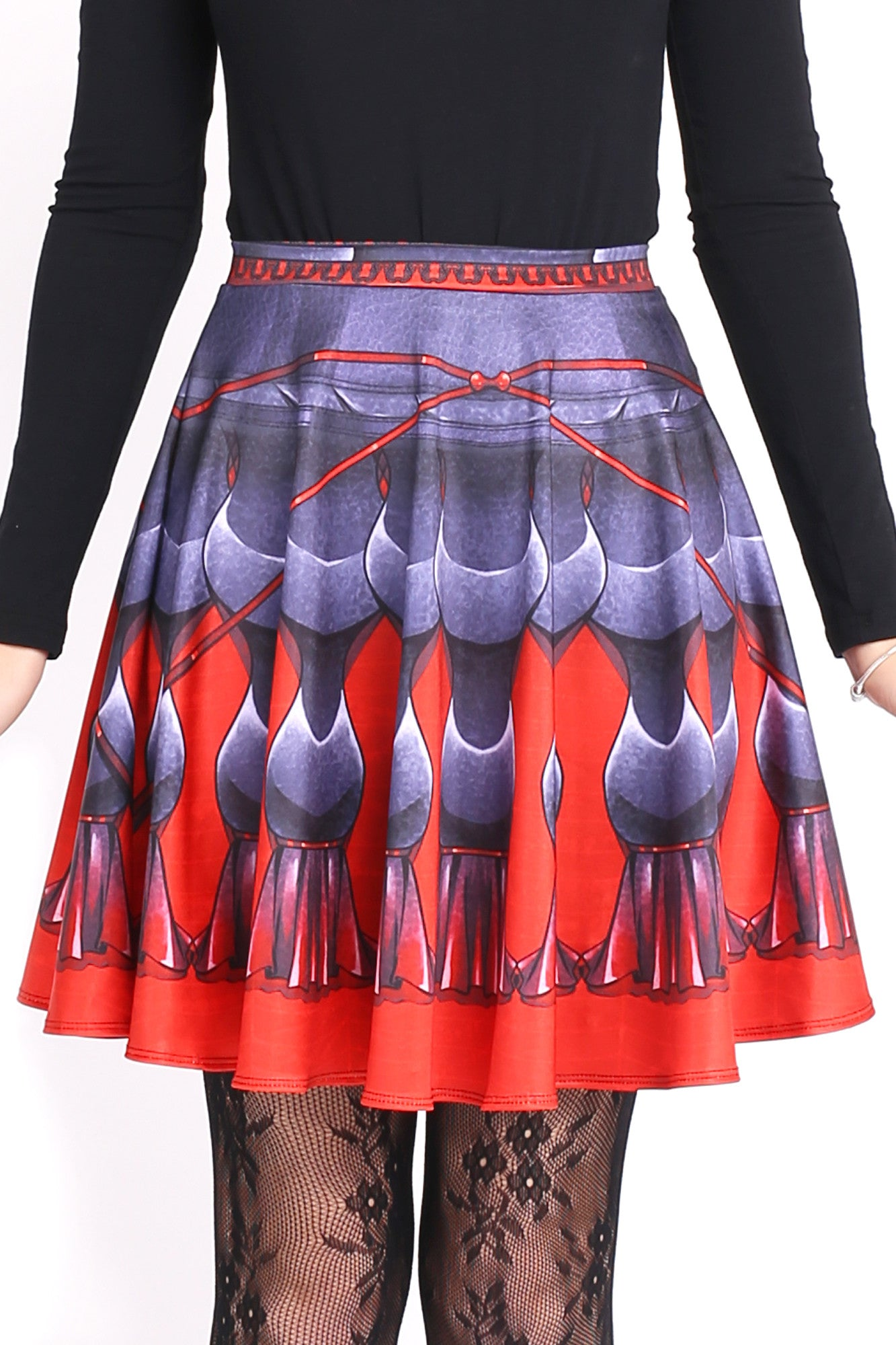 Widow Fairy Skater Skirt
