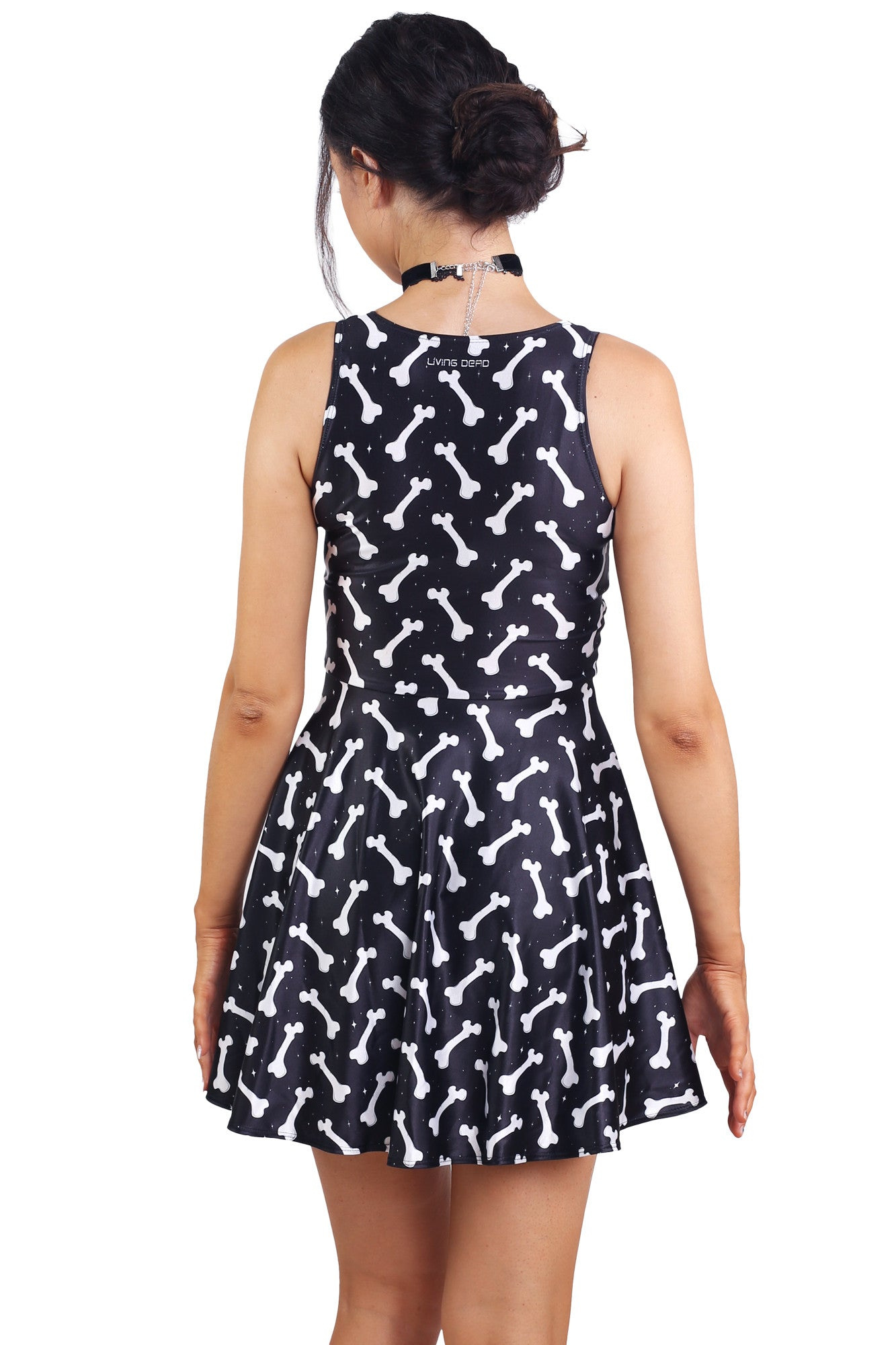 No Bones About It Happy Hour Dress