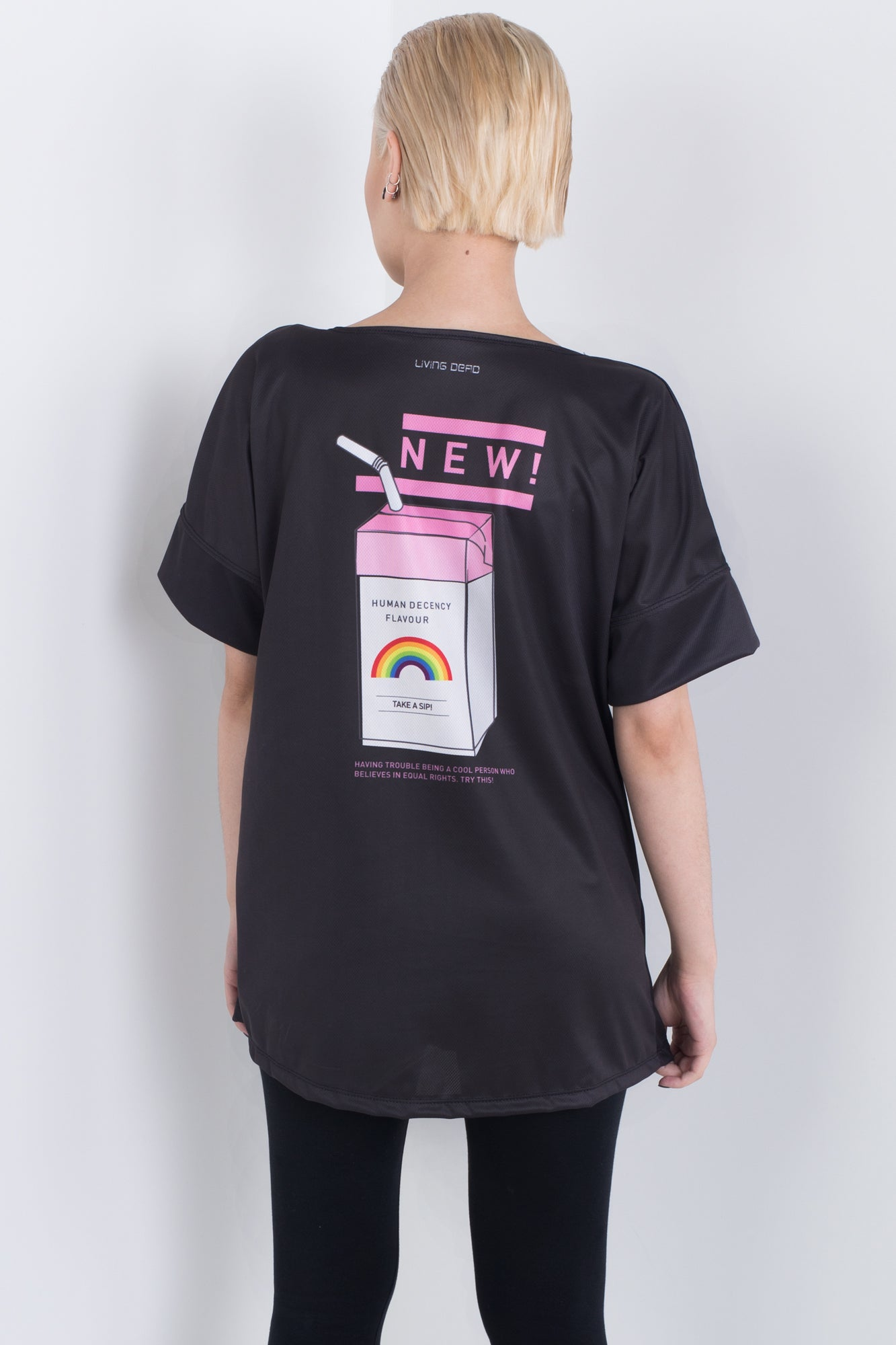 Juice box Black Triple Threat Tee