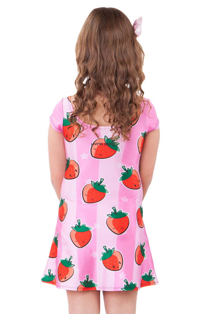 Strawberries and Cream Kids A-Line