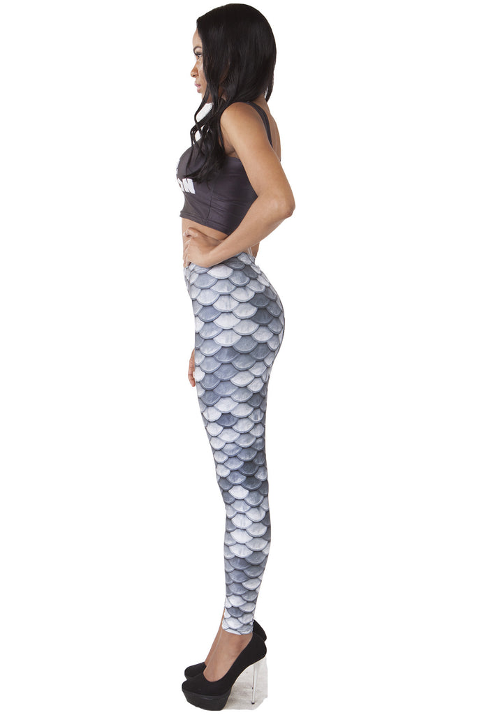 Silver Scale Leggings