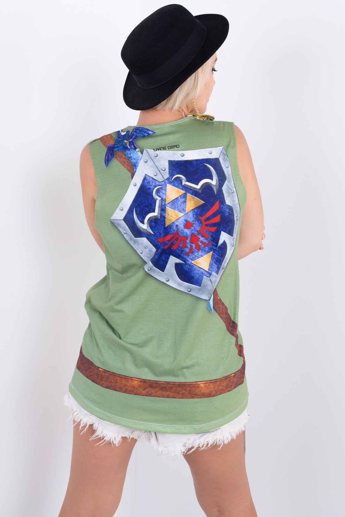 Link Cosplay Sleeveless Tee