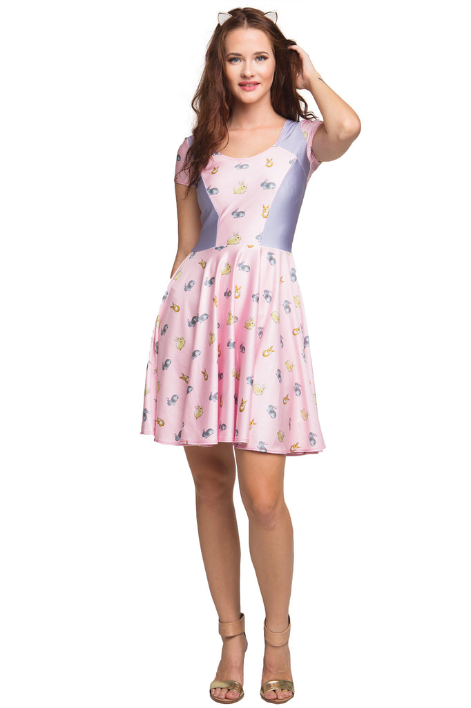 Honey Bunny Cupid Heart Dress