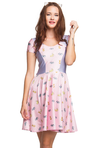 Oh Deer! Cupid Heart Dress