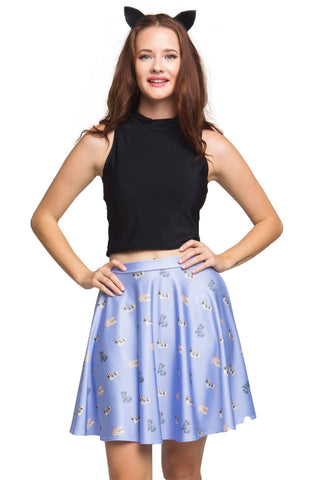 Feeling Ducky Midi Skirt and Off Shoulder Crop Set