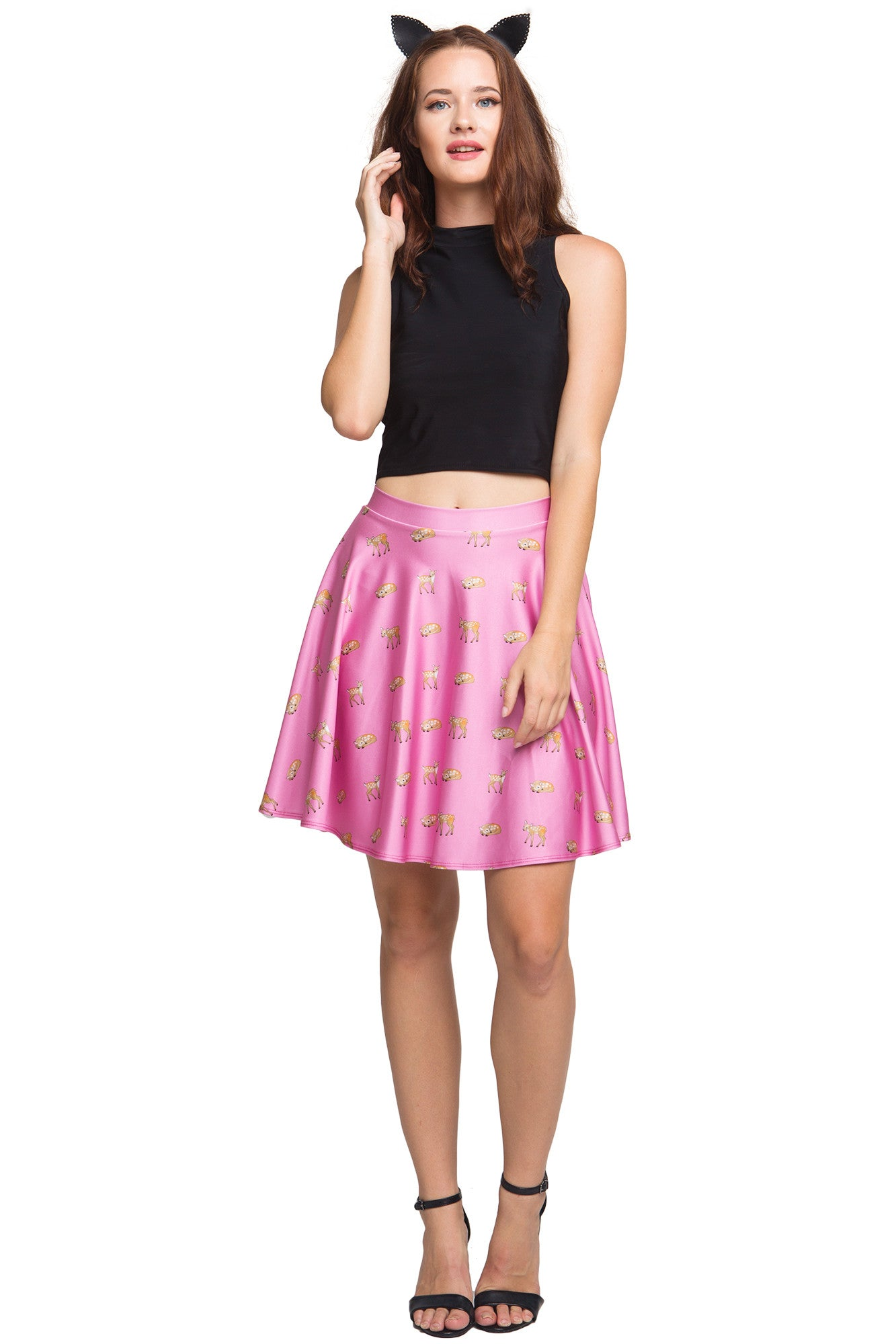 Oh Deer! Skater Skirt