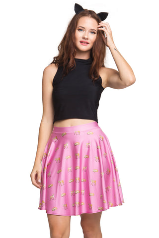 Free Spirit Crop and Skater Skirt Set