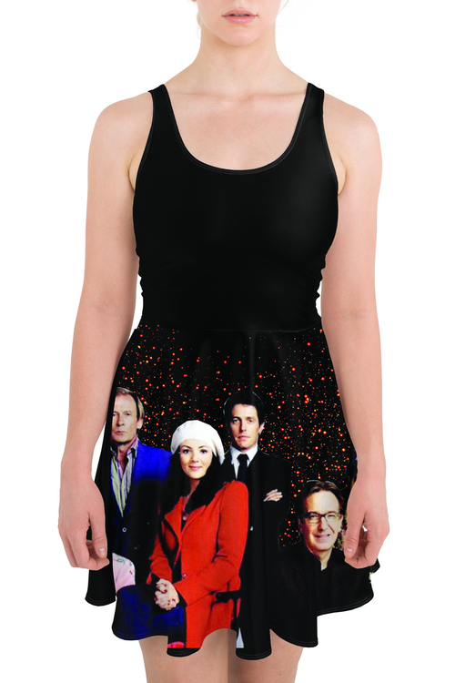Love Actually Cast Skater Dress