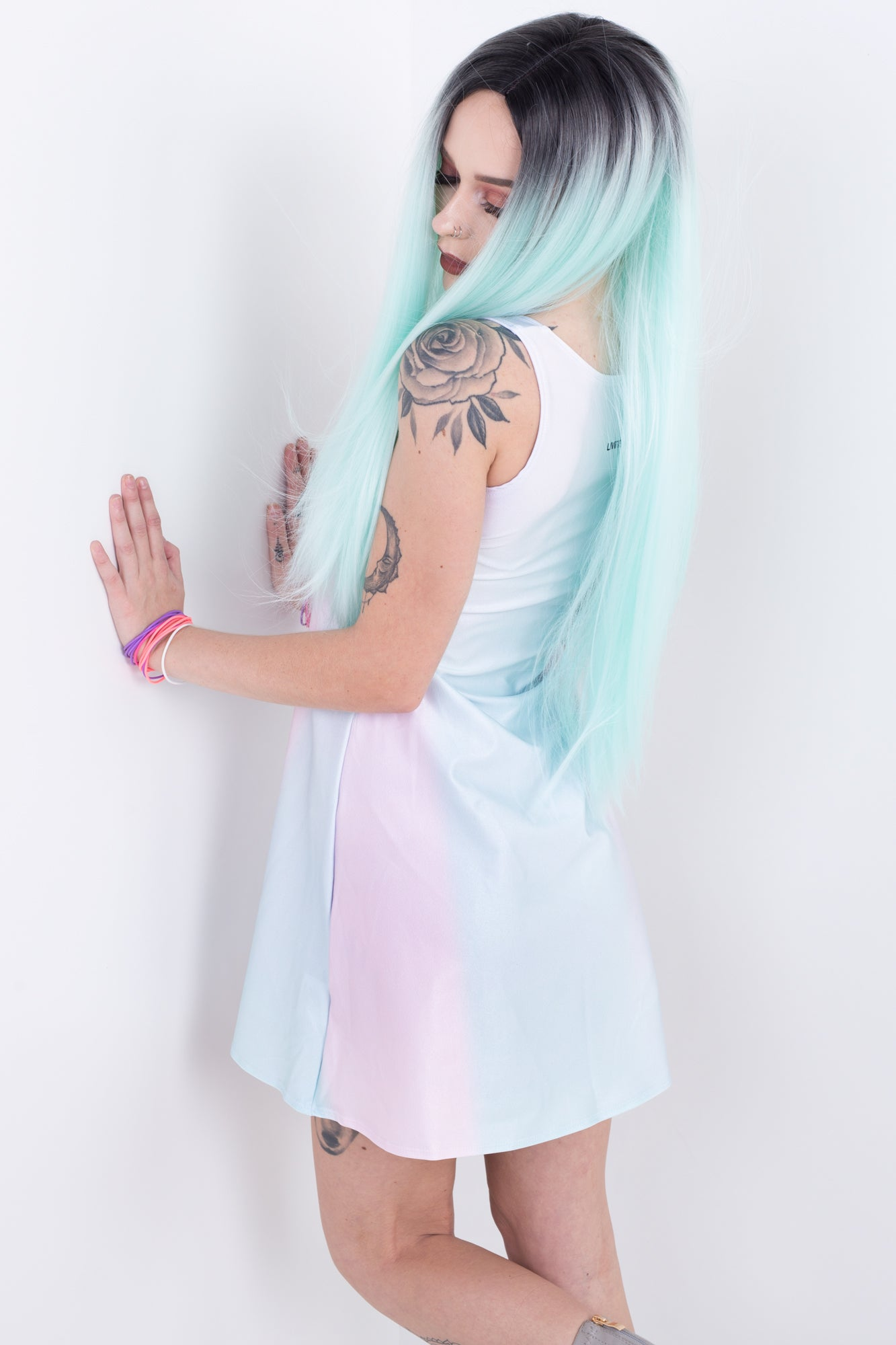 Magical Pastel Friends A-Line Dress