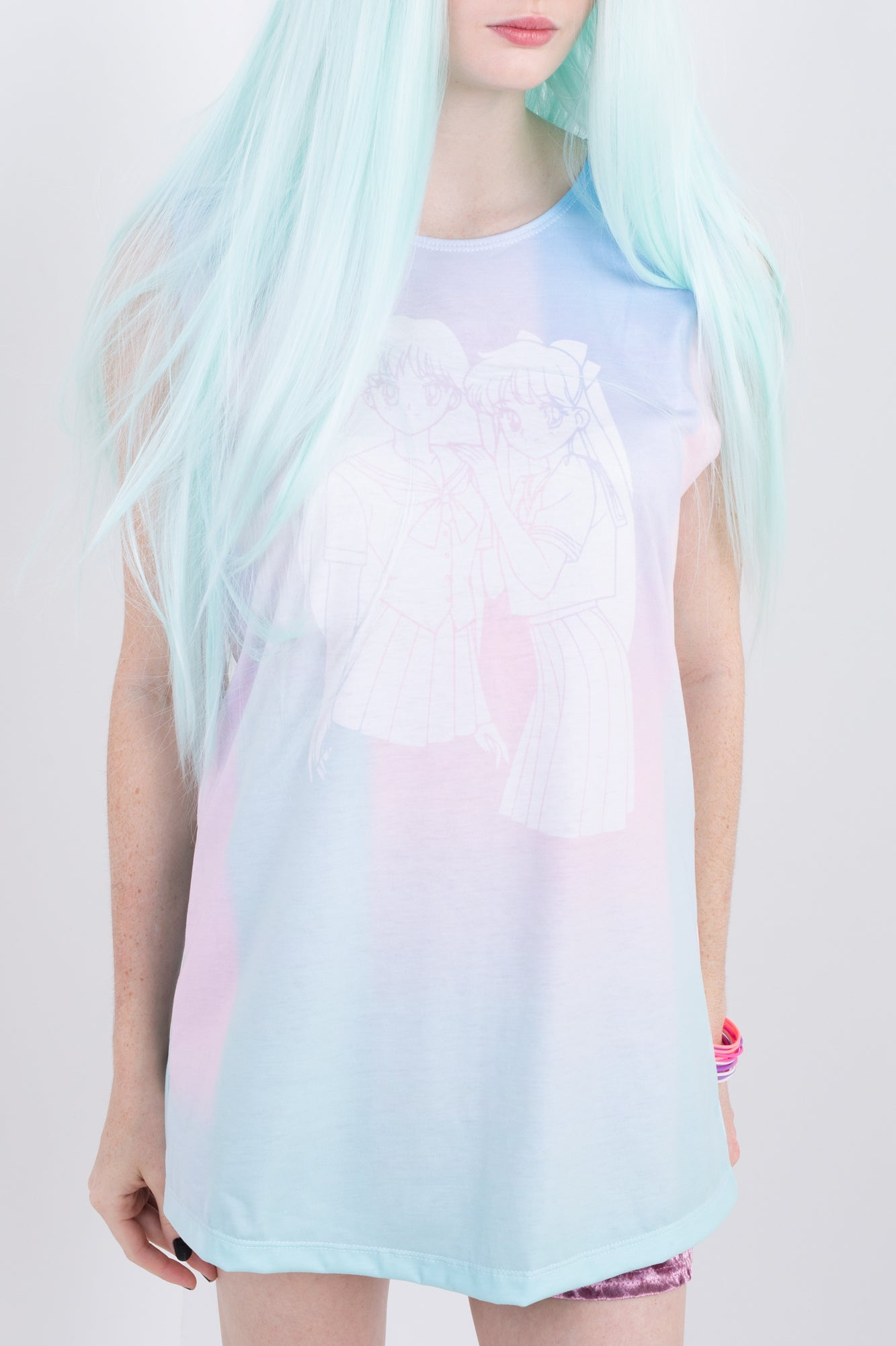 Magical Pastel Friends Sleeveless Tee
