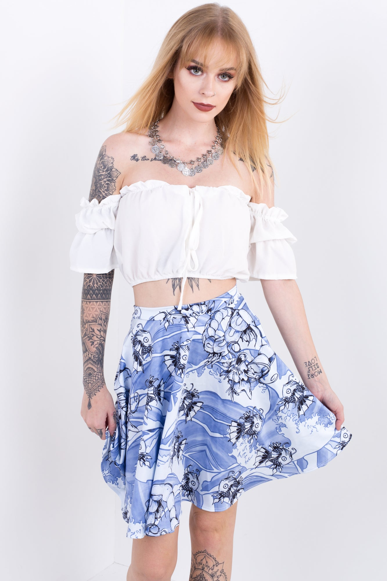 Magiodos Evolution Pocket Skater Skirt