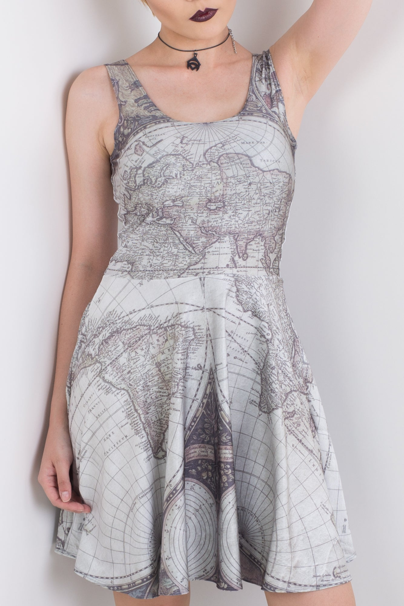 Map It Skater Dress