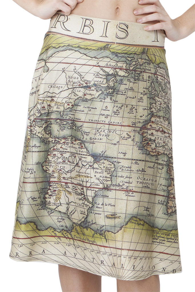 World Traveller Midi Skirt