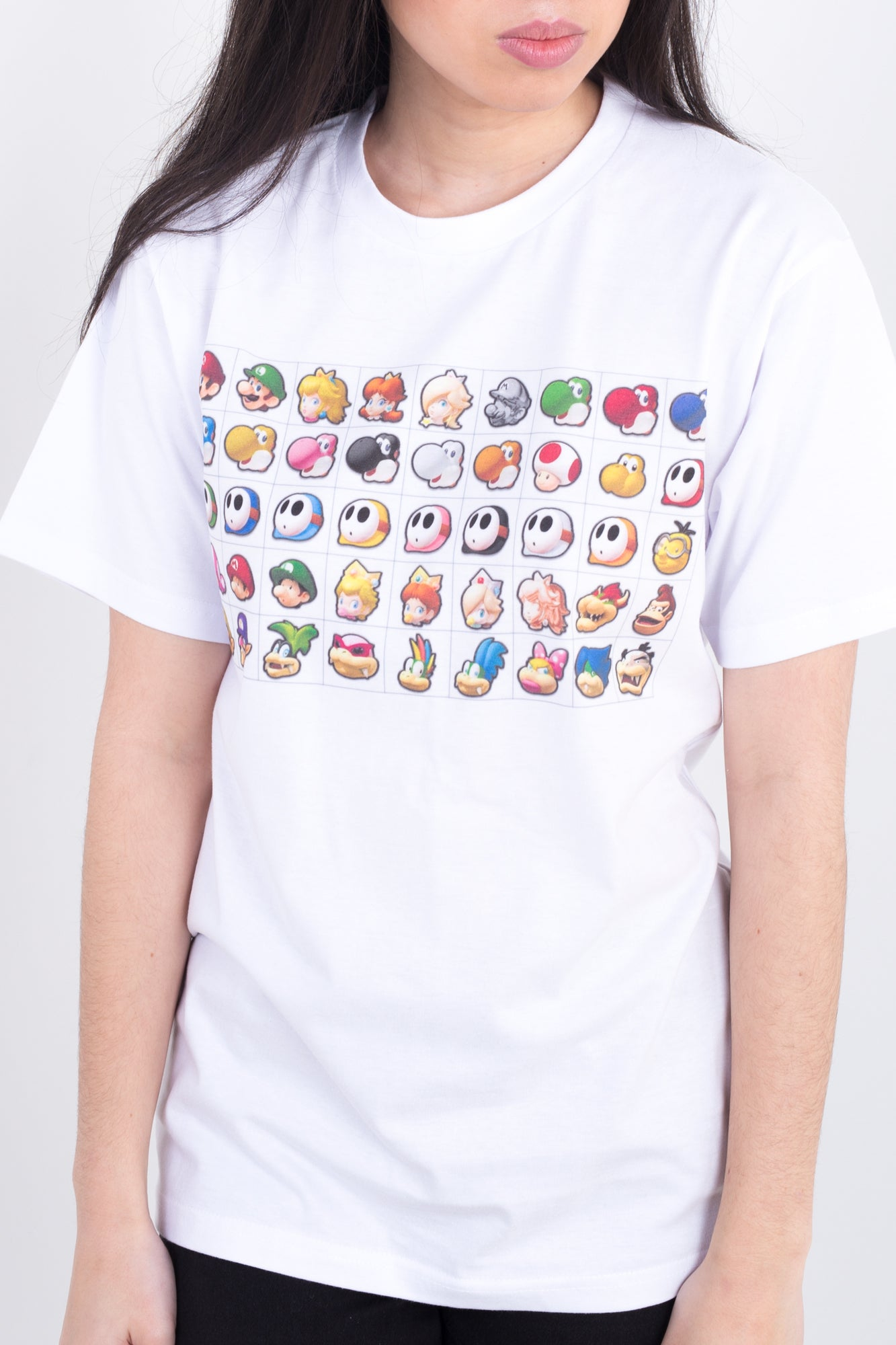 Mario Kart Player Select Tee