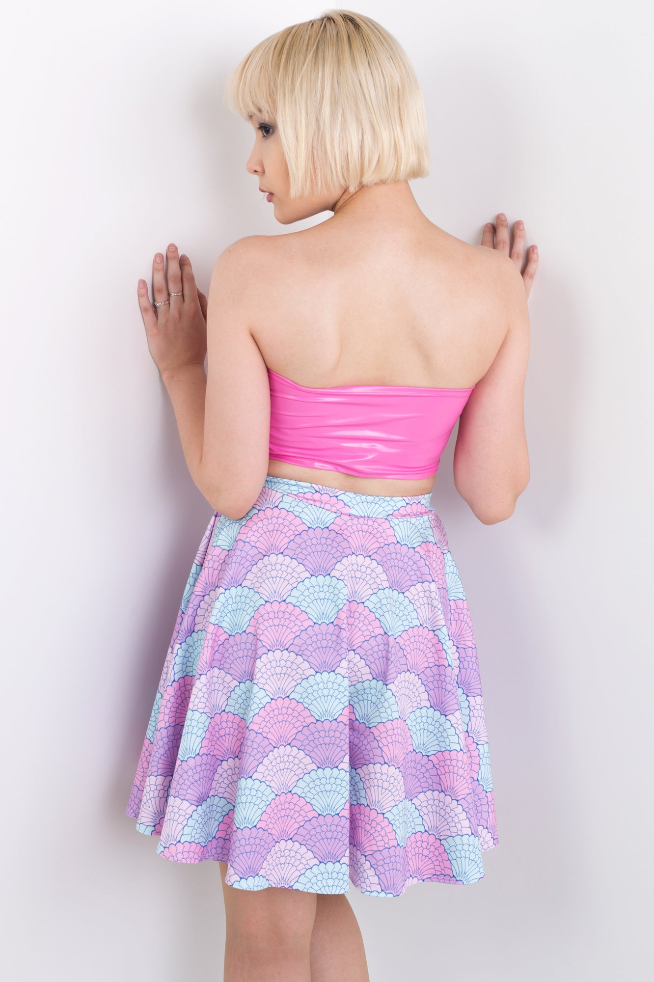 Mermaid Shell Skater Skirt