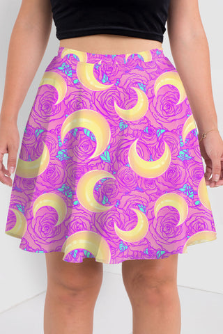 Sacred Lotus Skater Dress