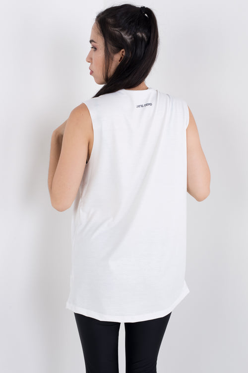 Moon Sleeveless Tee
