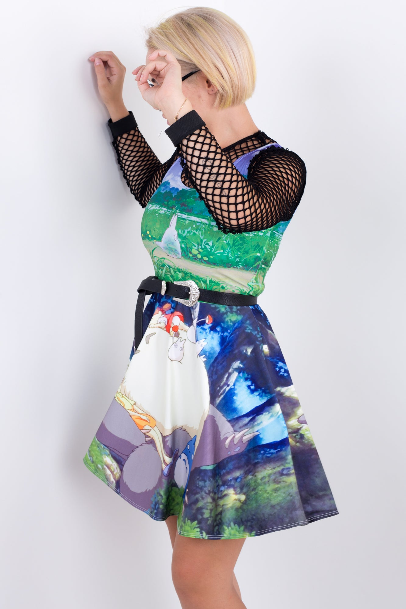 Neighbour Totoro Skater Dress
